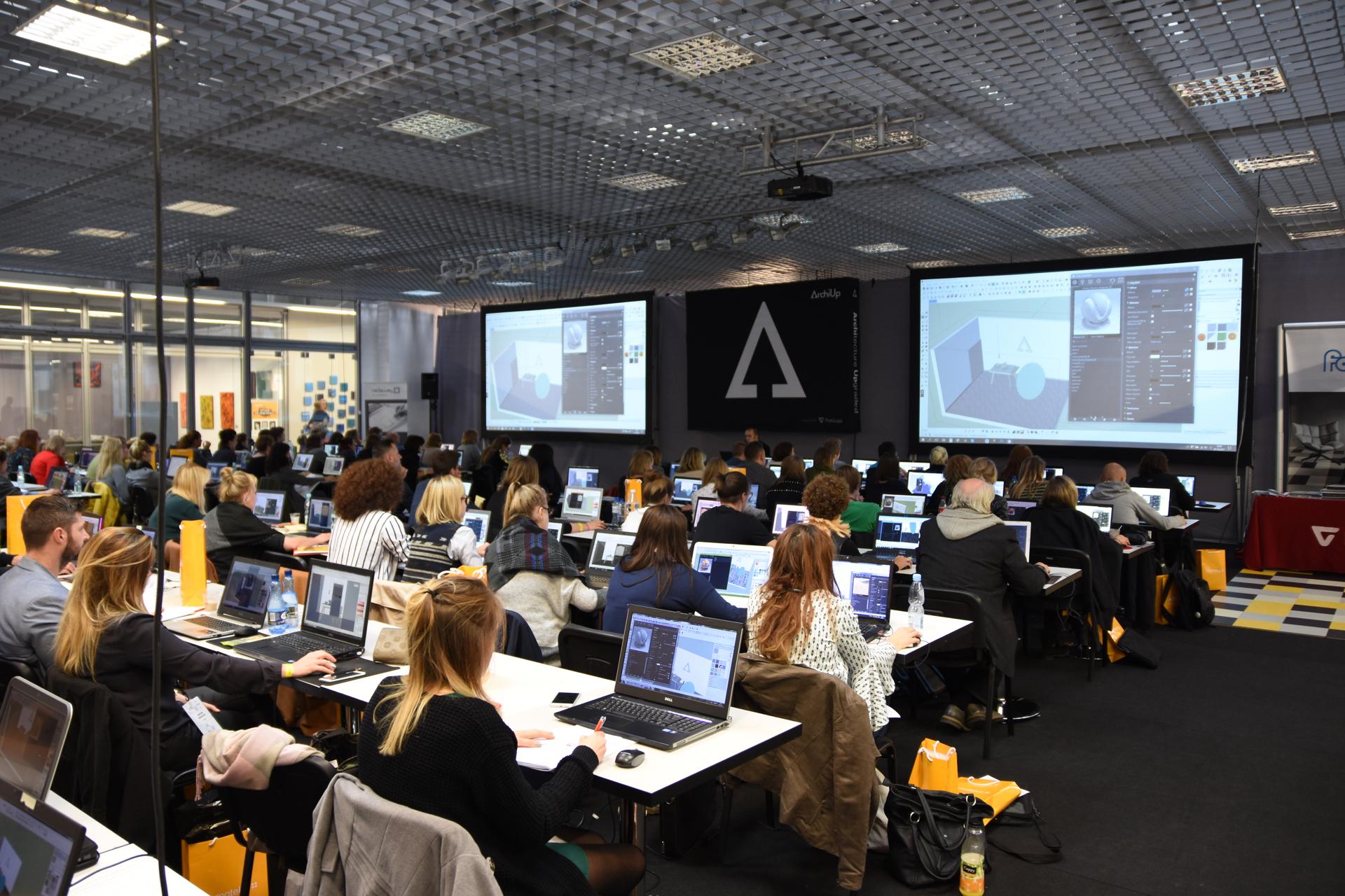 Podczas ArchiDay 2017 w Warsztatach Wizualizacji wzięło udział 120 osób