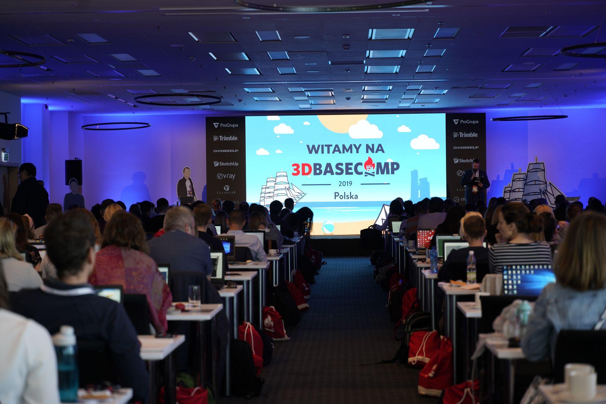 Konferencja 3D Basecamp w Gdyni zgromadziła licznych reprezentantów społeczności użytkowników SketchUp.