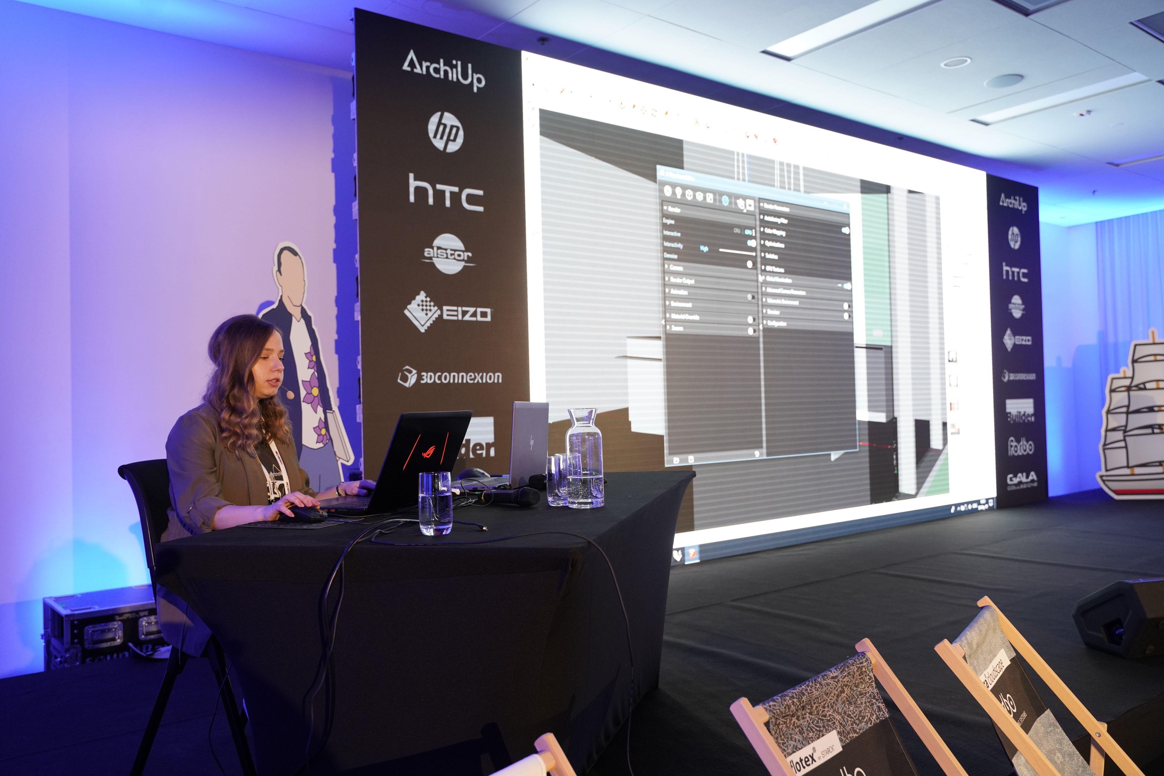 Anastasia Zhivaeva z Chaos Group jest doświadczonym architekt specjalizująca się w projektowaniu wnętrz i grafice komputerowej.