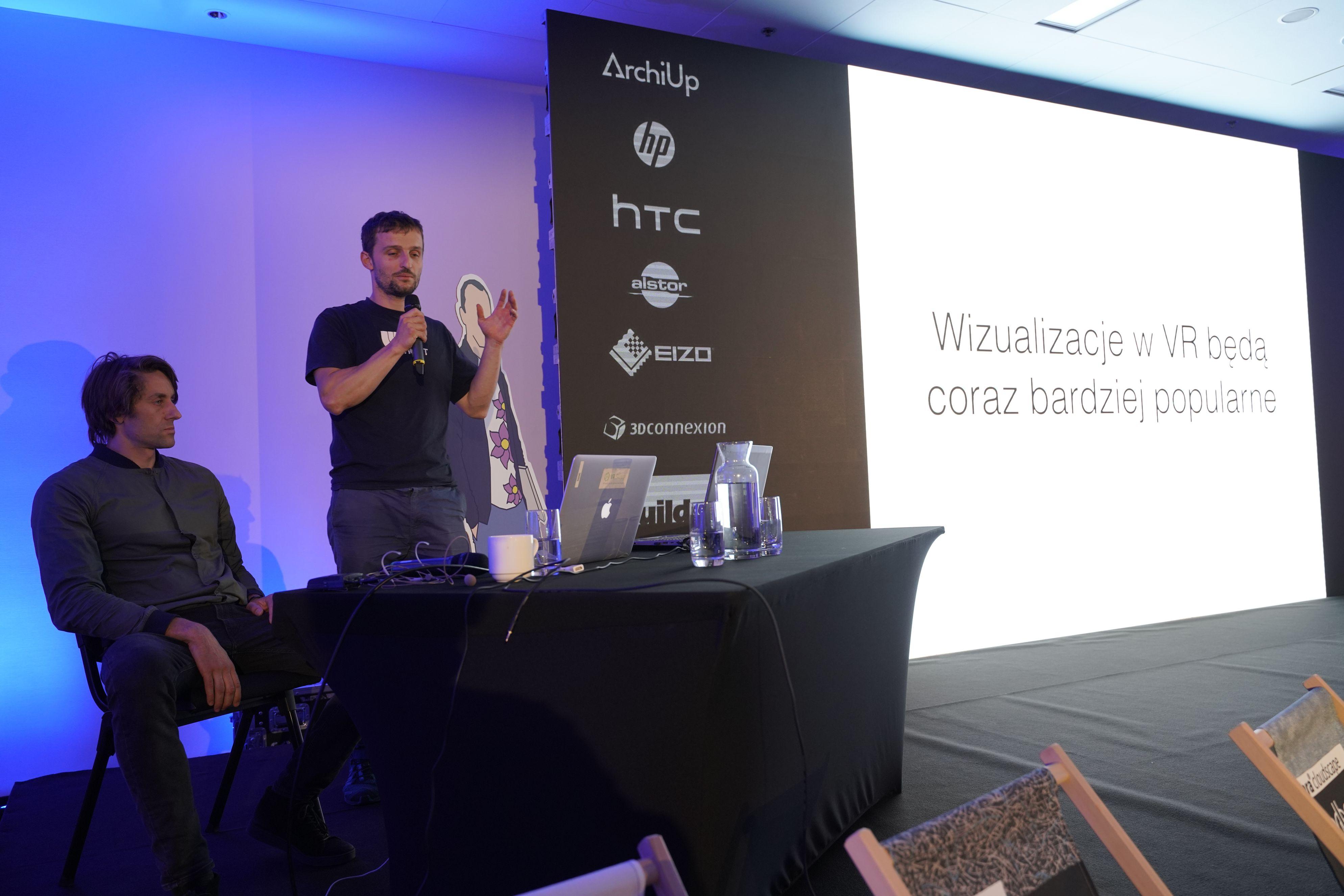 VR Sketch pozwala na projektowanie w środowisku VR z użyciem narzędzi znanych ze SketchUp.