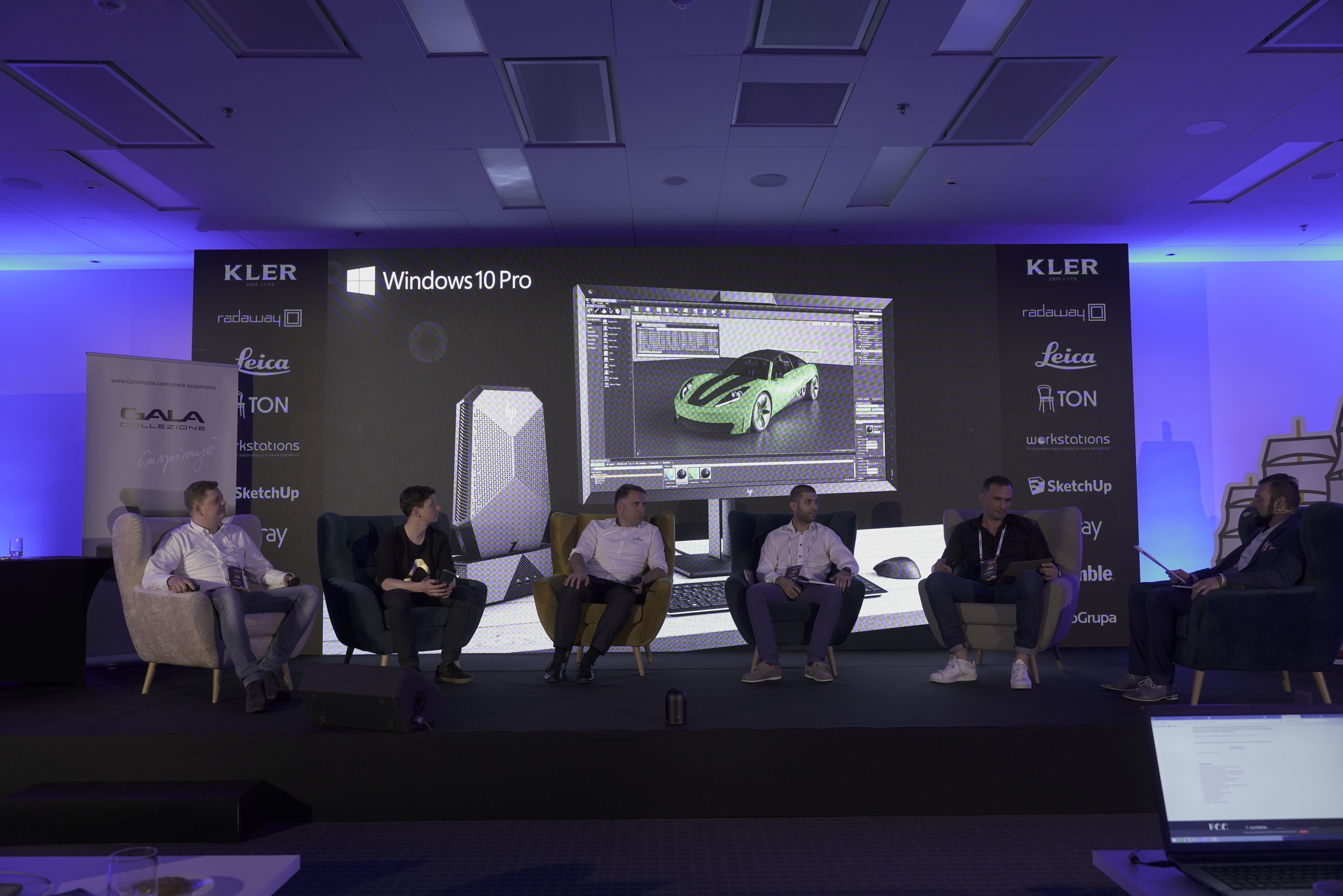 Panel technologiczny z ekspertami firm HTC, Dalmierze.pl, HP, Alstor i 3DConnexion.