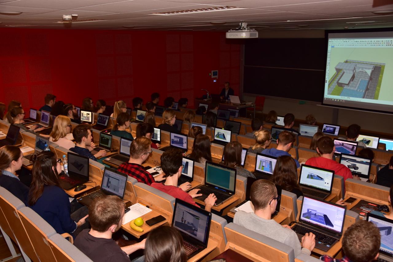 Spotkanie ze studentami Politechniki Poznańskiej