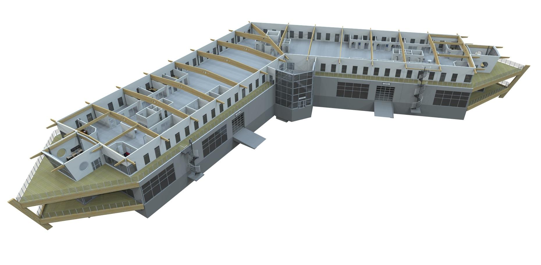 Kopiowanie rozwiązań pomiędzy projektami pozwala firmie Northpower Stålhallar zaoszczędzić czas.