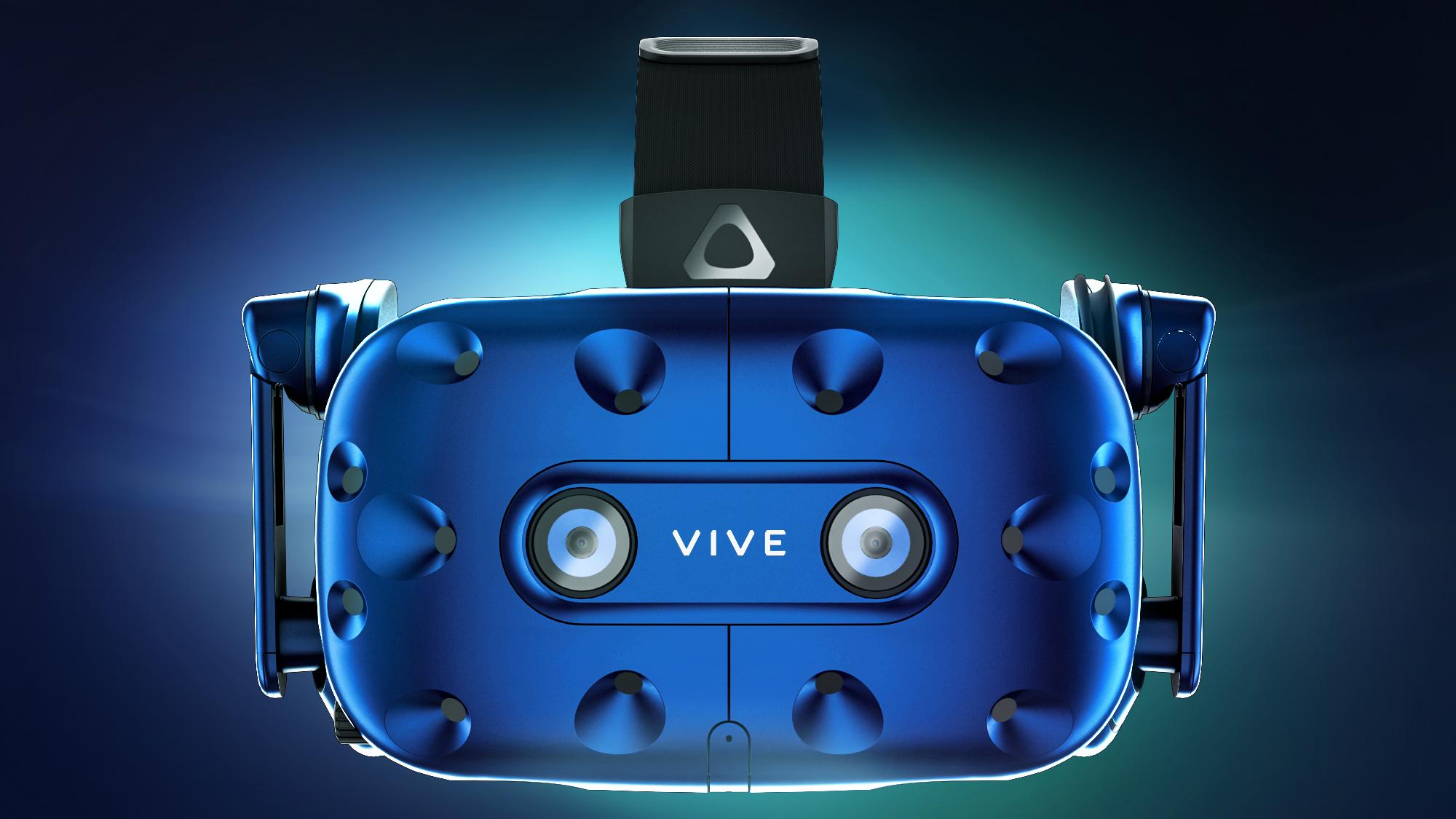 Okulary HTC VIVE Pro Eye, przez funkcję śledzenia wzroku, zapewniają łatwą nawigację i optymalne wyświetlanie  projektu (źródło: HTC)