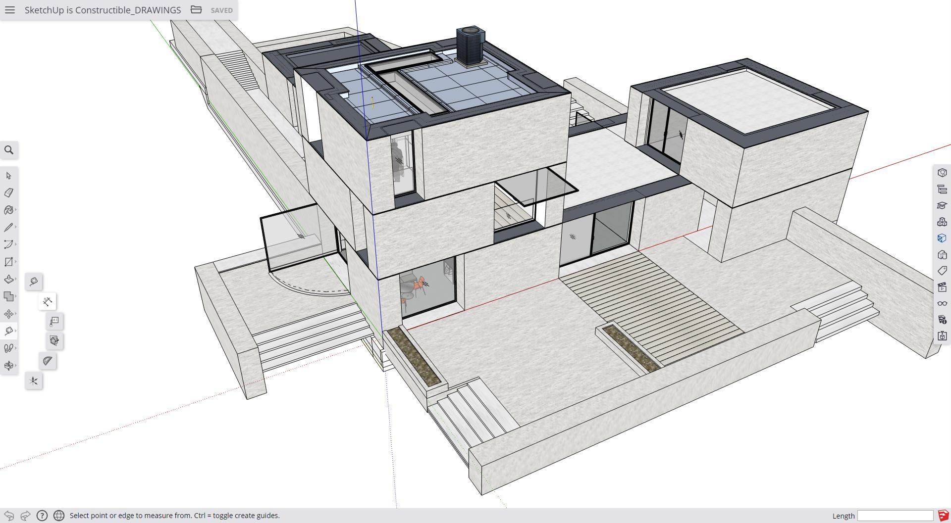 SketchUp Free czyli modelowanie 3D w każdej przeglądarce internetowej.