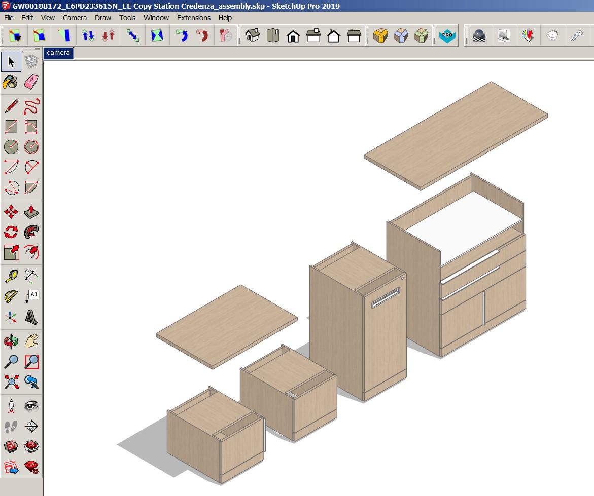SketchUp wykorzystywany jest do komunikacji wizualnej.