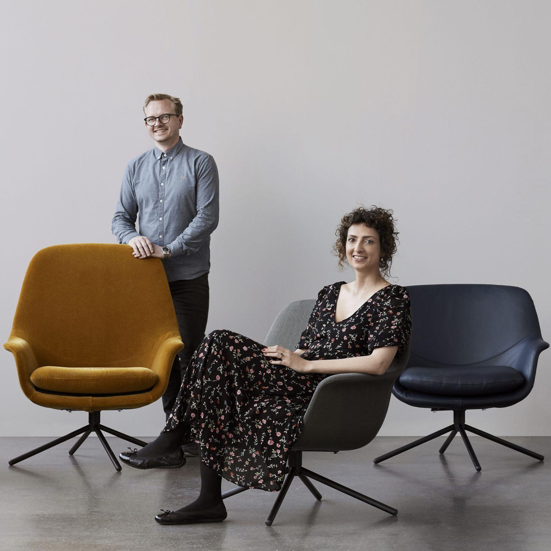 Jesper Mollgaard i Sandra Genth. Właściciele Icons of Denmark.
