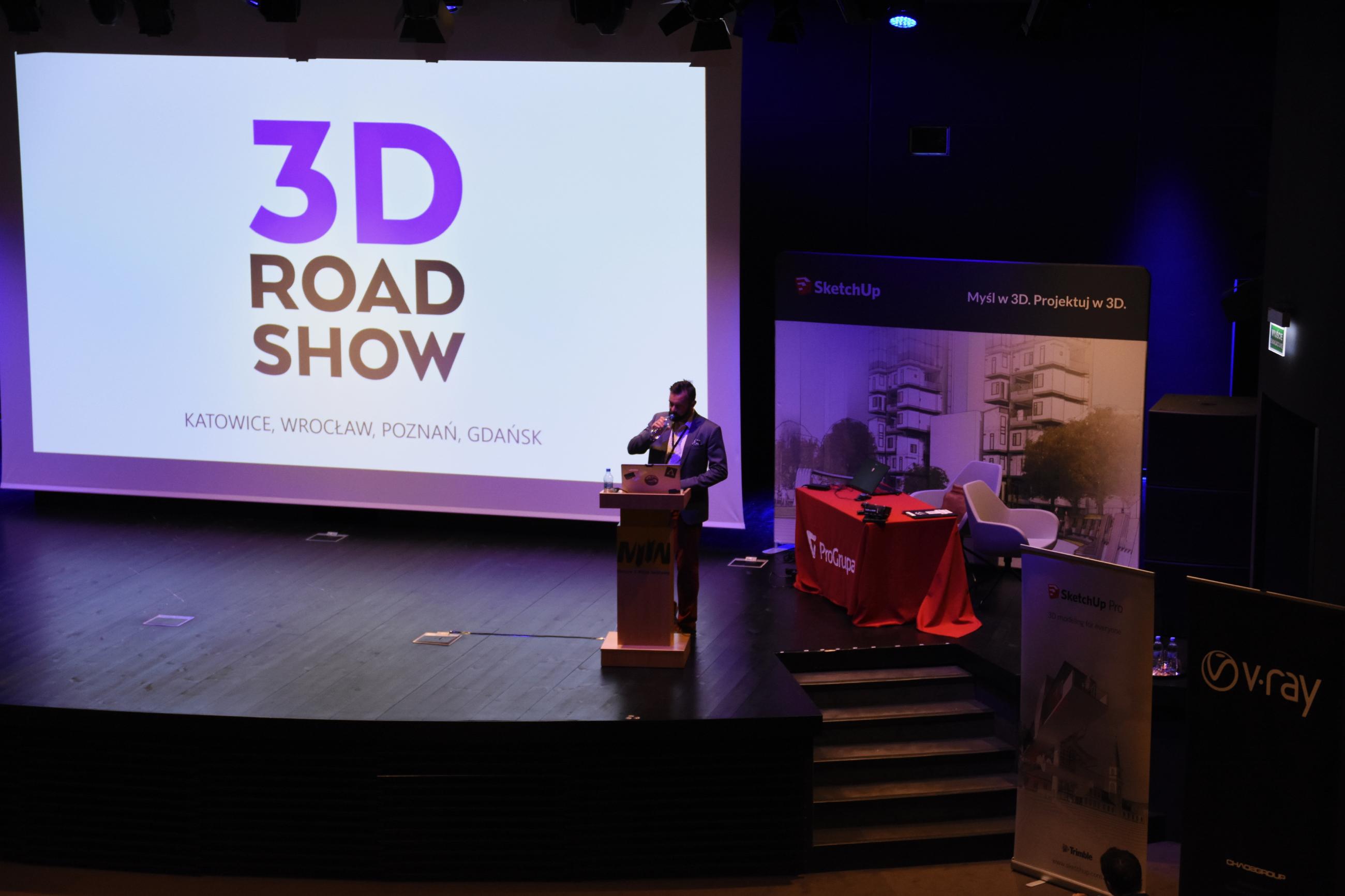 3D Roadshow 2018 odbywał się w czterech miastach Polski