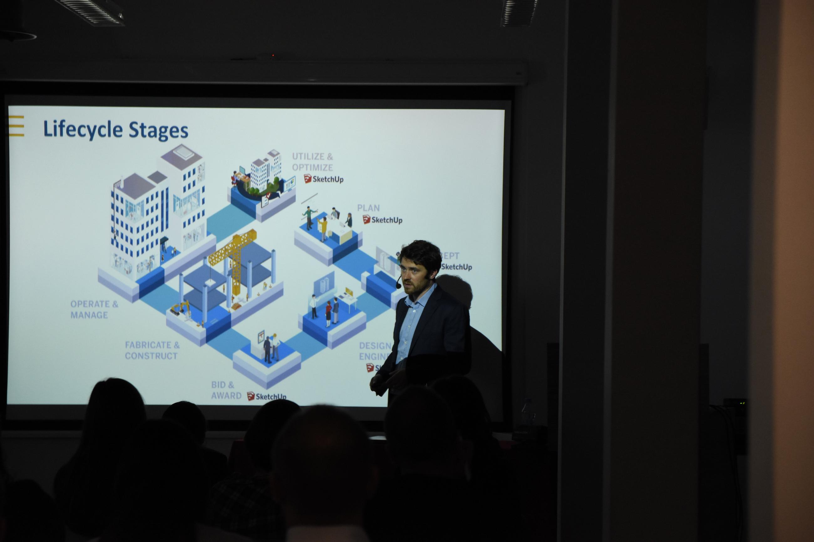 Rob O'Connor mówił o wykorzystaniu SketchUp w różnych etapach pracy z projektem