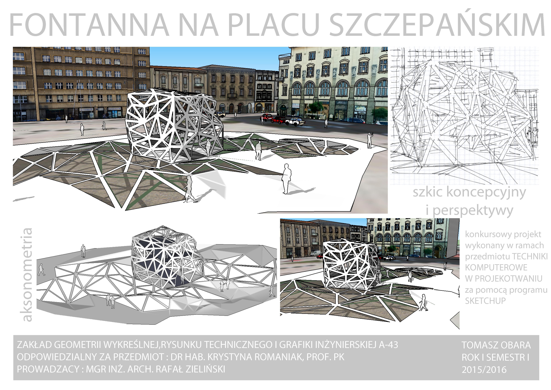 Praca studenta Politechniki Krakowskiej